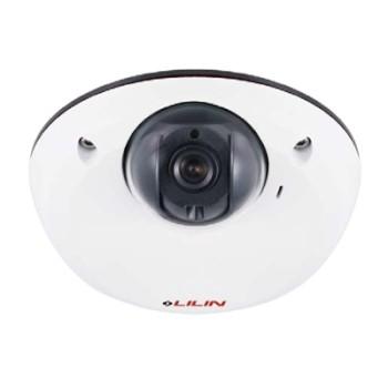 LILIN MD2242 indoor mini-dome IP camera with 4MP resolution, SenseUp Plus, edge storage and PoE