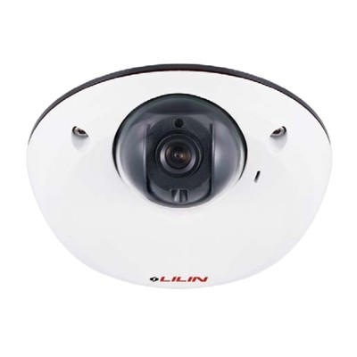LILIN MD2242 indoor mini-dome IP camera with 4MP resolution, SenseUp Plus, edge storage and PoE
