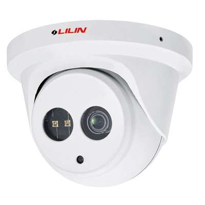 LILIN MR652 outdoor weather-resistant mini-dome with full HD 1080p resolution, SenseUp Plus technology, 30m of IR and PoE