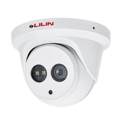 LILIN MR6822E2 outdoor mini-dome IP camera with HD 1080p resolution, up to 30m IR, SenseUp Plus, edge storage and PoE