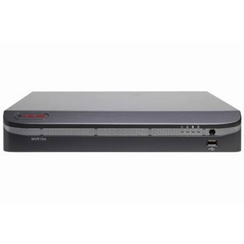 LILIN NVR104 network video recorder with 4 channel support and real-time multi-touch support, up to 4TB storage