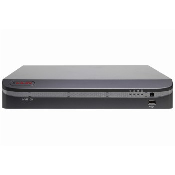 LILIN NVR109 network video recorder with touchscreen support, 9 channels, full HD 1080p output and up to 12TB storage