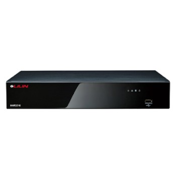 LILIN NVR3216 network video recorder with 480 fps capability across 16 channels and up to 16TB storage capacity