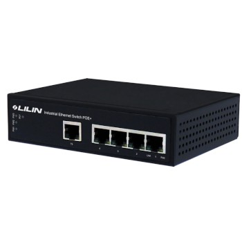 LILIN PS3055AT 4 port Power over Ethernet Plus injector switch IEEE802.3af/at