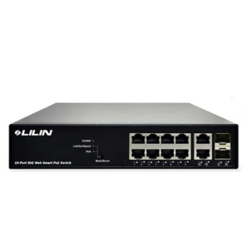 LILIN PS3108C 8-port, managed Power-over-Ethernet+ switch