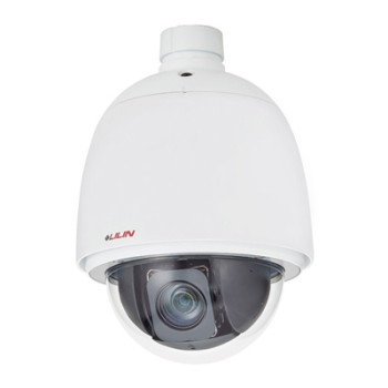 LILIN PSD4624EX outdoor PTZ speed dome IP camera with HD 1080p, 360°  pan, up to 30x optical zoom, edge storage and PoE+