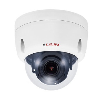 LILIN ZHR6482EX2 outdoor, vandal-resistant 4K dome IP camera with up to 30m IR, SenseUp plus, edge storage and PoE
