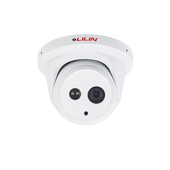 LILIN ZMR6542X outdoor dome IP camera with 4MP resolution, up to 30m IR, SenseUp Plus, edge storage and PoE