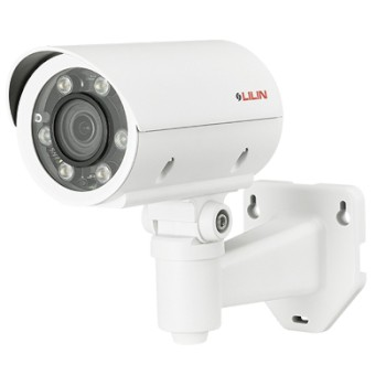LILIN ZMR7722X outdoor bullet IP camera with 2MP resolution, up to 40m IR, SenseUp Plus, two-way audio support and PoE