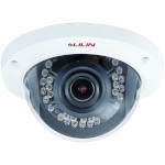LILIN ZR2322X indoor dome IP camera with full HD 1080p, 25m IR night-vision, two-way audio and auto-focus and zoom
