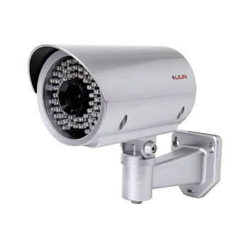 LILIN ZR7424 outdoor bullet IP camera with HD 1080p resolution, 45m IR, IP66 rated, auto-focus technology and PoE+