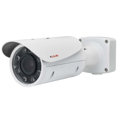 LILIN ZR8022 outdoor bullet IP camera with HD 1080p, 60m IR, up to 20x optical zoom, SenseUp Plus, edge storage and PoE+