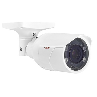 LILIN ZSR8122EX2 outdoor-ready bullet IP camera with 2MP resolution, up to 35m IR, SenseUp Plus, edge storage and PoE+