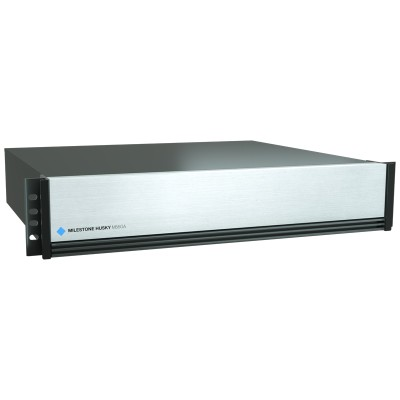 Milestone Husky M550A network video recorder with up to 768 channels and a maximum of 64TB storage