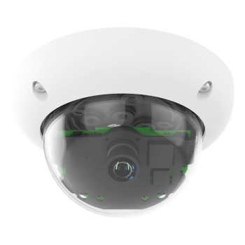 Mobotix D25 dome IP camera, 6MP Moonlight technology, outdoor-ready, wide range of lenses and mounting options