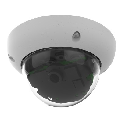 Mobotix D26 dome IP camera with 6MP Moonlight technology, outdoor-ready, H.264 support and a wide range of lenses