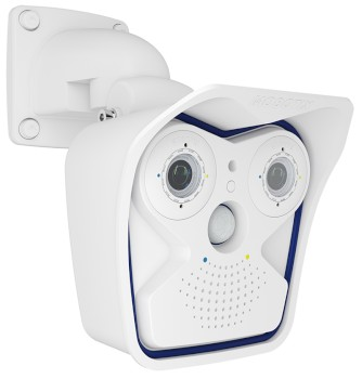 Mobotix M15 Allround Dual IP camera, 6MP Moonlight technology, outdoor-ready and a full range of lenses