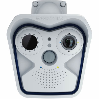 Mobotix M15-Thermal Allround Dual IP camera, 6MP Moonlight technology and a full range of optical sensor modules
