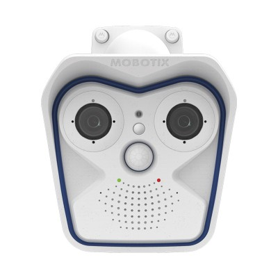 Mobotix M16 Allround Dual IP camera with 6MP Moonlight technology, outdoor-ready, H.264 support and a full range of lenses