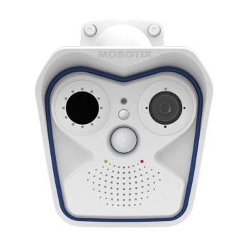 Mobotix M16 Thermal Radiometry IP camera for elevated temperature detection with a dual optical & thermal lens system