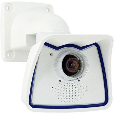 Mobotix M24M-SEC-Night Indoor/outdoor IR sensitive 1.3MP static IP camera with 4GB microSD card, 2-way audio and PoE
