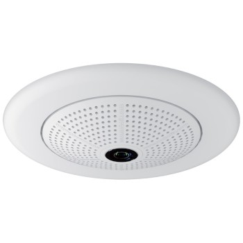 Mobotix Q25 hemispheric IP camera, 6MP Moonlight technology, wall / ceiling mountable, outdoor-ready and 360° view