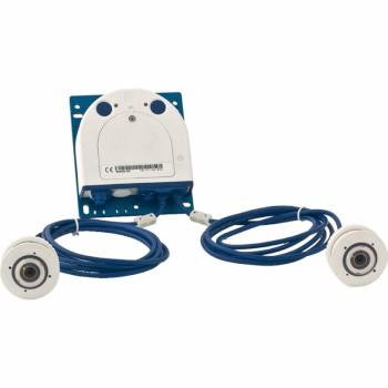 Mobotix S15 modular IP camera with 6MP Moonlight technology, flexible dual sensor modules and full range of lenses