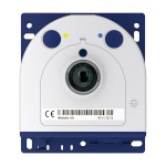 Mobotix S15M mini IP camera with 6MP Moonlight technology, outdoor-ready and hemispheric 180° view
