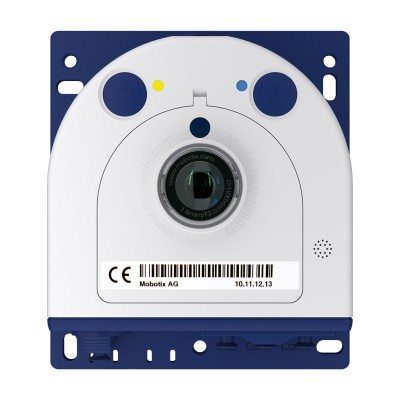 Mobotix S15M discreet IP camera with 6MP Moonlight technology, outdoor-ready and hemispheric 180° view