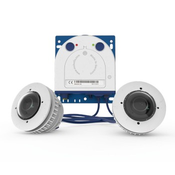 Mobotix S16 modular IP camera with 6MP Moonlight technology, H.264 support and full range of optical and thermal lenses