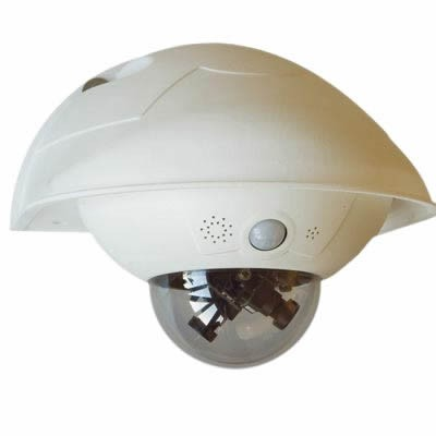 Image Mobotix Mx Wh Dome Wall Mount Housing For D16