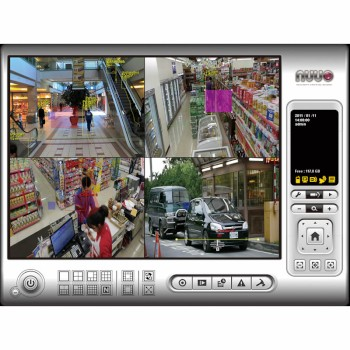 NUUO IP+ video recording software - 12 channel license