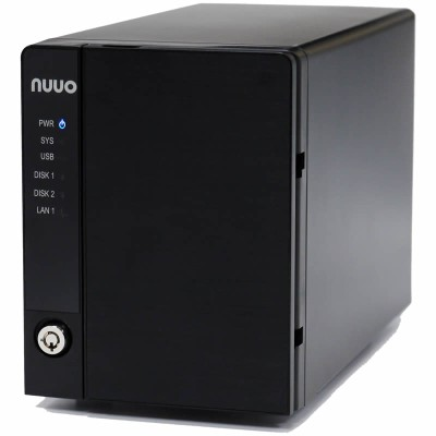 NUUO NE-4160 NVRmini 2 network video recorder with 16 channels and up to 16TB storage, intelligent search, Linux-embedded