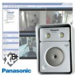 Image of 4 x Panasonic BL-C160 Outdoor IP cameras, built-in light + Milestone XProtect Basis+ 4 channel recording software XBP+04 provided by www.networkwebcams.co.uk