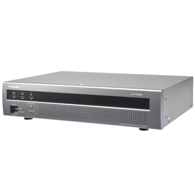 Panasonic i-Pro WJ-NX200 network video recorder with 9 channels (expandable up to 32 channels) and up to 12TB storage