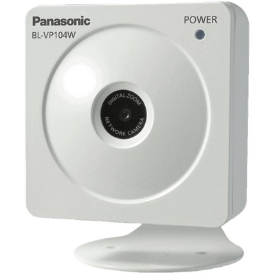 Panasonic BL-VP104W indoor wireless camera with HD 720p resolution, electronic day/night, face detection and ONVIF