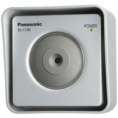 Panasonic BL-C140 outdoor, fixed IP camera with built-in motion detection, PPoE