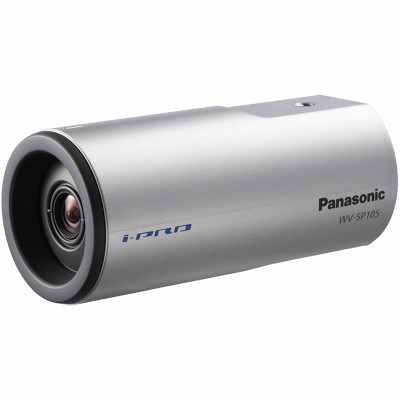 Panasonic WV-SP105 indoor, HD 720p, fixed IP camera with built-in motion detection, day/night function, PoE