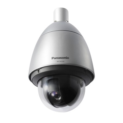 Panasonic WV-S6530N outdoor vandal-resistant PTZ dome IP camera with HD 1080p, up to 31x optical zoom, H.265 and PoE+