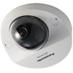 Panasonic i-Pro WV-SF132 indoor compact fixed-dome IP camera with VIQS, Adaptive Black Stretch, electric day/night