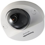 Panasonic i-Pro WV-SF135 indoor HD 720p fixed-dome IP camera with VIQS, Adaptive Black Stretch, electric day/night