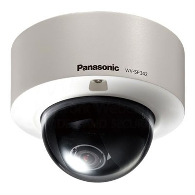 Panasonic i-Pro WV-SF342 indoor IP camera with face detection, wide dynamic range and on-board SD recording