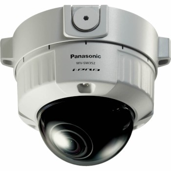 Panasonic i-Pro WV-SW352 outdoor fixed dome IP security camera with day/night function, H.264, PoE