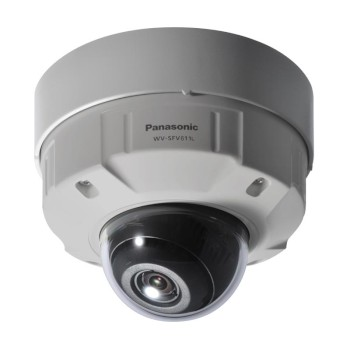 Panasonic WV-SFV611L outdoor dome IP camera with HD 720p (60 fps), 30m night-vision, PoE and double SD card storage