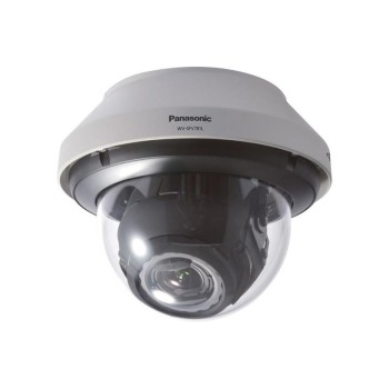 Panasonic WV-SFV781L outdoor 4K vandal-resistant dome IP camera with 30m IR, varifocal lens and SD storage