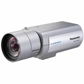 Panasonic i-Pro WV-SP302 indoor, fixed IP camera with day/night function, on-board SD recording, H.264, PoE
