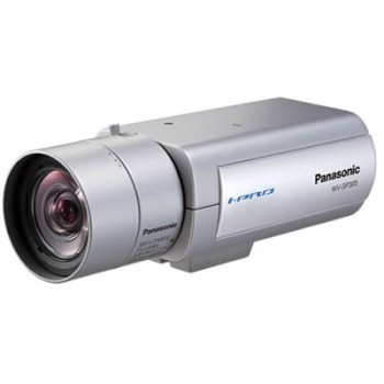Panasonic i-Pro WV-SP305 indoor, 1.3 megapixel, fixed IP camera with day/night function, on-board SD recording, H.264, PoE