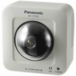 Panasonic i-Pro WV-ST165 indoor IP camera with pan/tilt, HD 720p, wide dynamic range and face detection