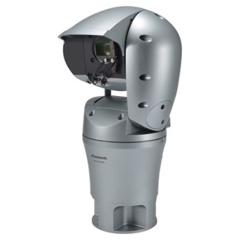 Panasonic WV-SUD638 outdoor Super Dynamic AeroPTZ IP camera with HD 1080p resolution, 30x optical zoom and Smart Coding