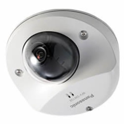 Panasonic i-Pro WV-SW158 vandal-resistant outdoor HD 1080p IP camera with face detection, super dynamic technology and PoE
